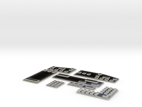 412 - Clear Panel Assembly in Transparent Acrylic