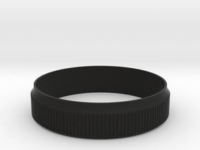 Fuji X100 / X100S / X100T Focus Ring Sleeve in Black Natural Versatile Plastic