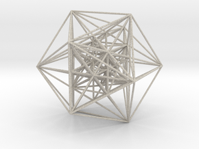 MorphoHedron11-800F Icosahedron in Natural Sandstone
