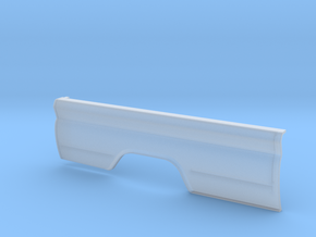Chevy pickup long bed. Right fender. in Smooth Fine Detail Plastic