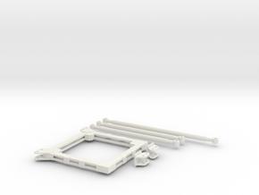 Collar Set for POTAIN MDT178 in White Strong & Flexible