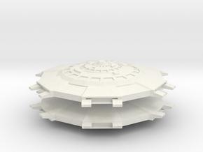 BaseStar - C in White Natural Versatile Plastic