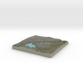 Terrafab generated model Sun Oct 06 2013 13:22:04  in Full Color Sandstone