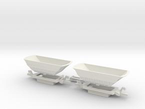 Fammoorr 050 TT Scale in White Strong & Flexible