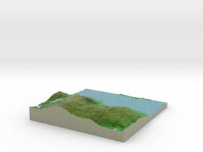 Terrafab generated model Sun Oct 06 2013 21:05:07  in Full Color Sandstone