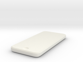iPhone5C in White Natural Versatile Plastic