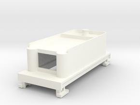 Tender 280 Dcc (high) in White Processed Versatile Plastic