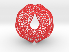Spherocircles in Red Strong & Flexible Polished