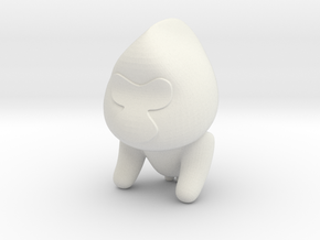 Gote in White Natural Versatile Plastic