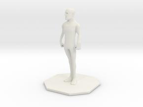 CrashMan in White Natural Versatile Plastic
