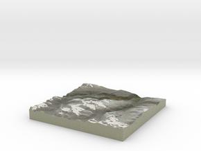 Terrafab generated model Thu Oct 10 2013 10:28:11  in Full Color Sandstone
