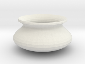 pot 1 in White Natural Versatile Plastic