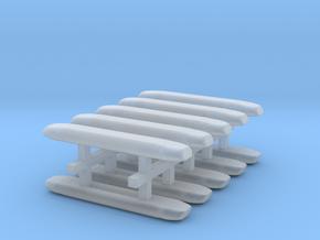 DBS 4000 10x18mm - Ecke und Balken aus einem Stück in Frosted Ultra Detail