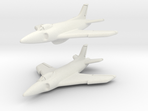 Supermarine Swift FR.5 (Pair) 1/285 6mm in White Strong & Flexible