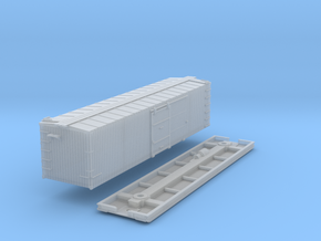 N-Scale D&SL 53000 Series Boxcar Kit in Smooth Fine Detail Plastic