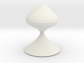 chess pawn 2 in White Natural Versatile Plastic