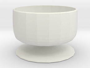 wentworth water feature in White Natural Versatile Plastic