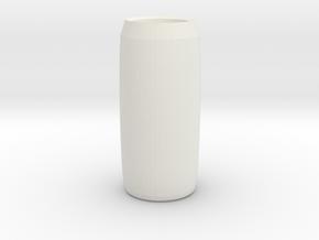 spiderman vase in White Natural Versatile Plastic
