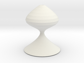 chess pawn in White Natural Versatile Plastic