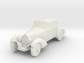 Bugatti 43  in White Natural Versatile Plastic