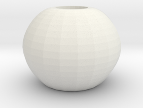 ball vase in White Natural Versatile Plastic