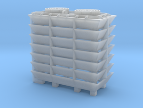 Cooling Tower - Zscale in Smooth Fine Detail Plastic