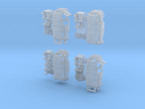 1-220 R-Estafette Microcar SET in Smooth Fine Detail Plastic