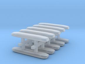 DBS 4000 10x16mm - Ecke und Balken aus einem Stück in Frosted Ultra Detail