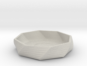 ash tray 1 in Full Color Sandstone