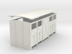 Body Van Clvent Door2 32 in White Natural Versatile Plastic