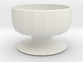 Planter 2 in White Natural Versatile Plastic