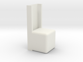 mad hatter chair in White Natural Versatile Plastic