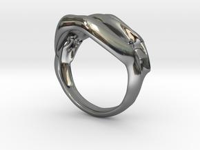 `ringez in Fine Detail Polished Silver