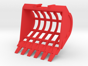 Sieve Bucket MG in Red Processed Versatile Plastic