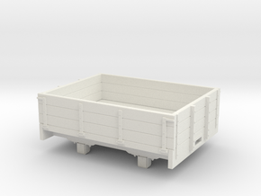 1:32/1:35 3 plank dropside wagon  in White Natural Versatile Plastic