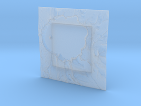8'' Crater Lake, Oregon, USA in Smooth Fine Detail Plastic