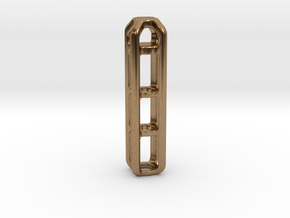 Tritium Lantern 4B (Silver/Brass/Plastic) in Natural Brass