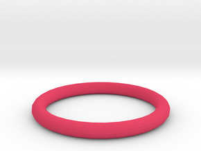 Pink ring in Pink Processed Versatile Plastic