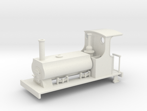 1:32/1:35 C&MLR Barclay saddle tank in White Natural Versatile Plastic