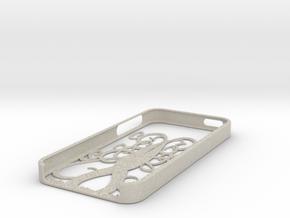 Spiral Tree iPhone 5 case in Sandstone