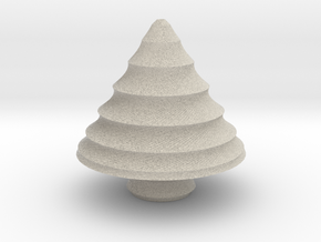 xmas tree 24 in Natural Sandstone
