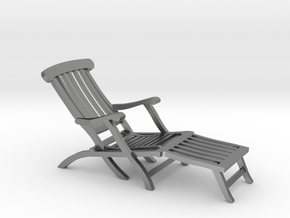 1:48 Titanic Deck Chair in Natural Silver