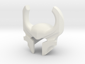 Heimdall Helm in White Natural Versatile Plastic