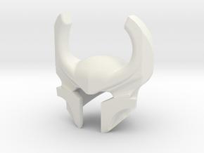 Heimdall Helm in White Natural Versatile Plastic