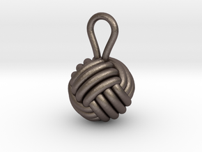 Monkeyfist in Polished Bronzed Silver Steel
