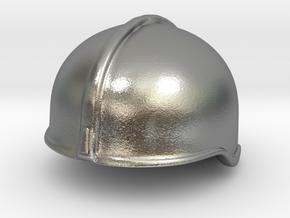 Fire Helmet Rosenbauer (Test) in Natural Silver