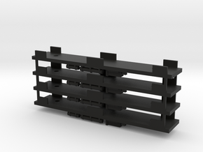 CNSM - 4 Interurban Underframes in Black Natural Versatile Plastic
