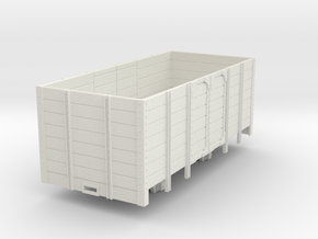 1:32/1:35 high side wagon  in White Natural Versatile Plastic