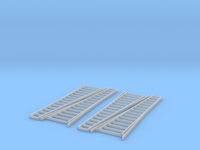 S Scale 15' Orchard Ladder X4 in Smooth Fine Detail Plastic