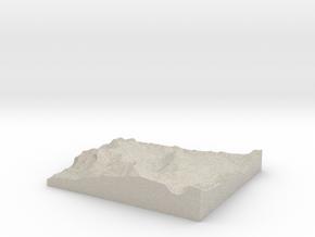 Model of Kirkwood in Natural Sandstone